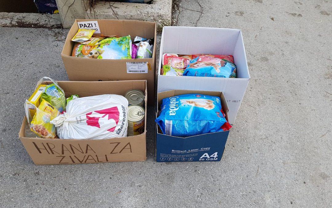 Zbiranje hrane za živali