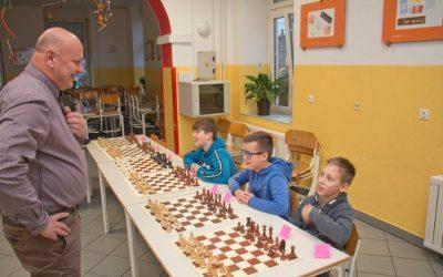 Šahovska prireditev na Osnovni šoli Starše